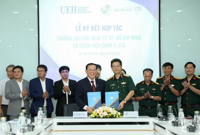 Trường ĐH Kinh tế TP. HCM và Bệnh viện Quân y 175 ký kết hợp tác toàn diện