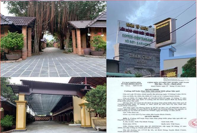 Sẽ cưỡng chế Resort Gia Trang xây dựng trái phép trên 7.000m2