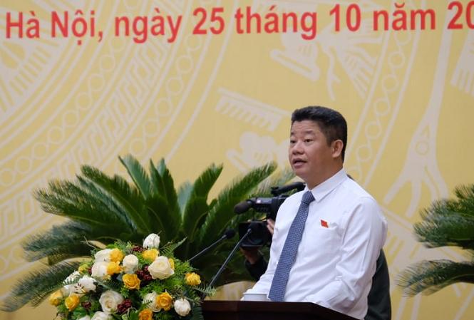 Giám đốc Sở KH&ĐT Hà Nội Nguyễn Mạnh Quyền thừa nhận tình trạng giải ngân chậm ở Hà Nội