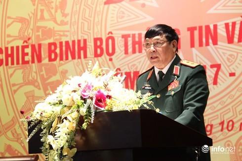 Trung tướng Nguyễn Song Phi. Ảnh tư liệu: Infonet