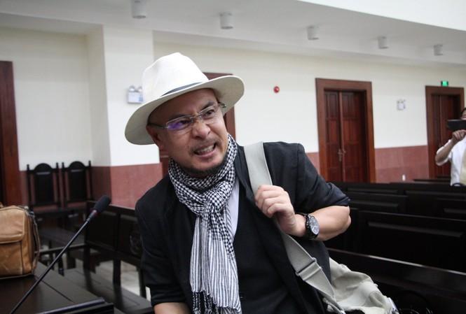 Ông Đặng Lê Nguyễn Vũ tại tòa sáng nay 29/10. Ảnh: Tân Châu