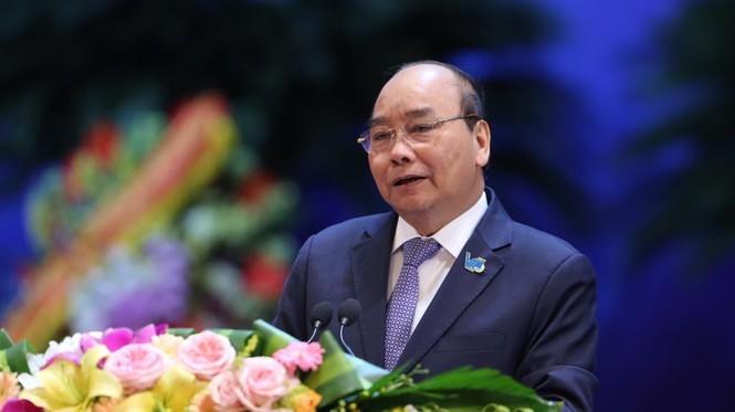 Thủ tướng Chính phủ Nguyễn Xuân Phúc. Ảnh: Hoàng Mạnh Thắng