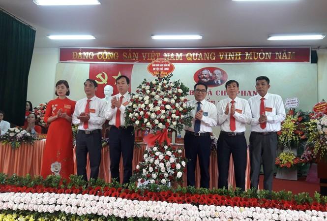 ĐH đảng bộ xã Chu Phan