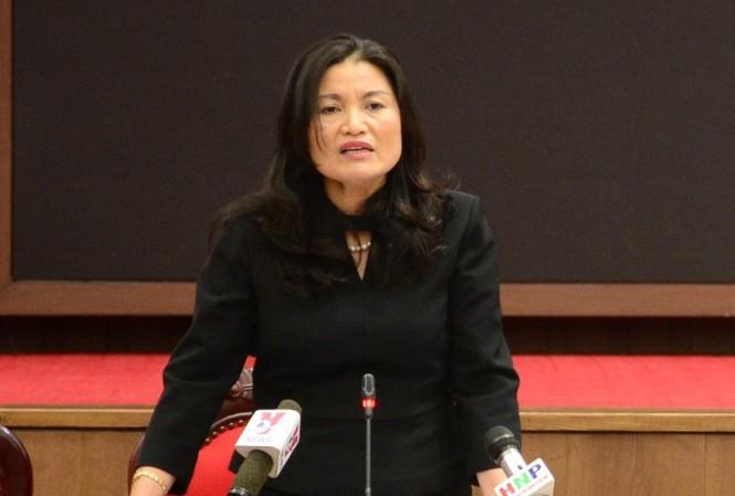 Bà Lã Thị Lan, Phó Giám đốc CDC Hà Nội