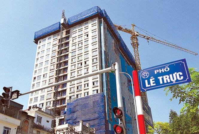 Hà Nội đã xử lý dứt điểm sai phạm tòa nhà 8B Lê Trực