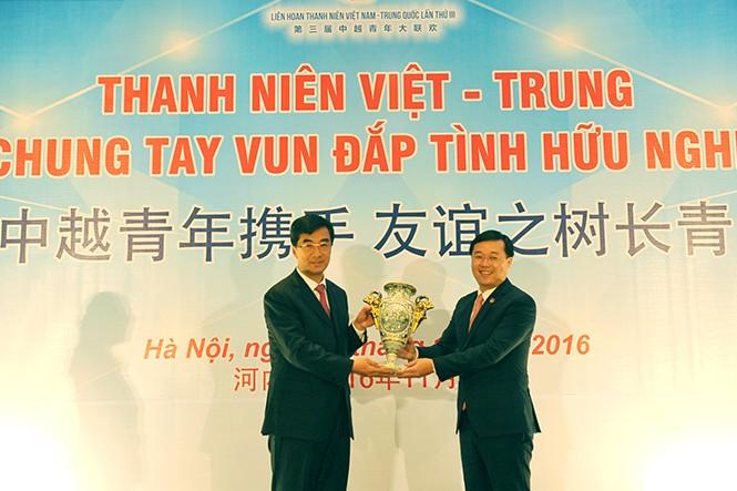 Tăng cường hoạt động giao lưu hợp tác thanh niên Việt - Trung