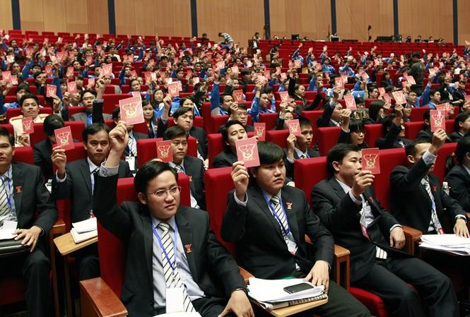 Trải qua 86 năm, tổ chức Đoàn đã trải qua 10 kỳ đại hội toàn quốc và tiến tới đại hội lần thứ XI. (Trong ảnh, các đại biểu tham dự đại hội lần thứ X) Ảnh: Xuân Tùng