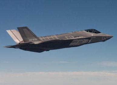 Nhật Bản đã tìm thấy xác tiêm kích F-35A bị rơi?