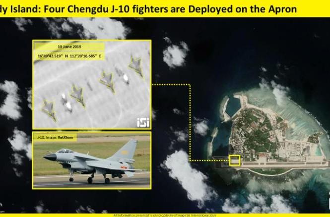 CNN: Trung Quốc đưa tiêm kích J-10 ra Hoàng Sa