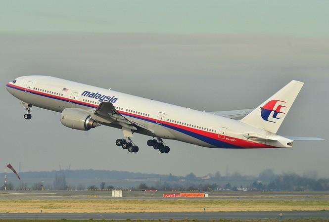 Chiếc máy bay MH-370 của Malaysian Airlines. Ảnh chụp  năm 2011.