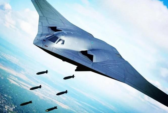Hình ảnh minh họa máy bay ném bom mới của Trung Quốc trên SCMP