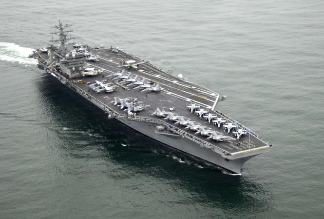 Tàu sân bay USS Nimitz của hải quân Mỹ