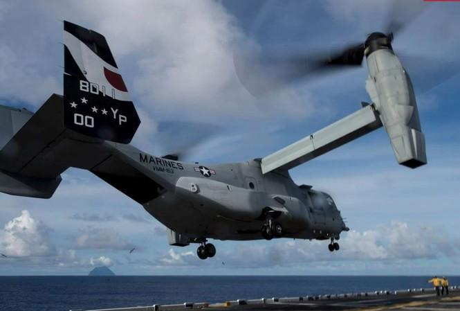 Trực thăng V-22 Osprey của thủy quân lục chiến Mỹ