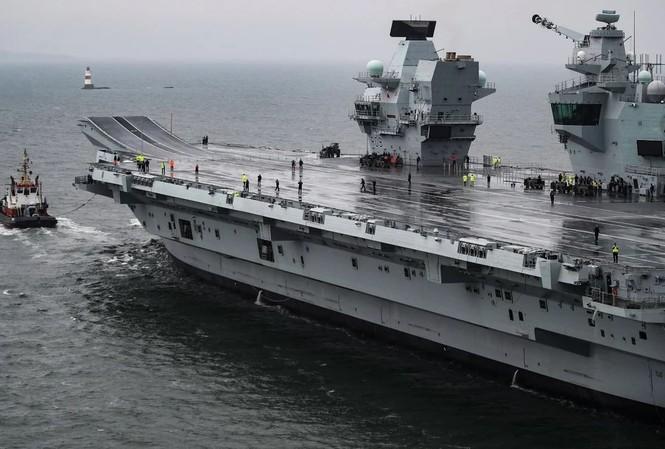 Tàu sân bay của hải quân Anh