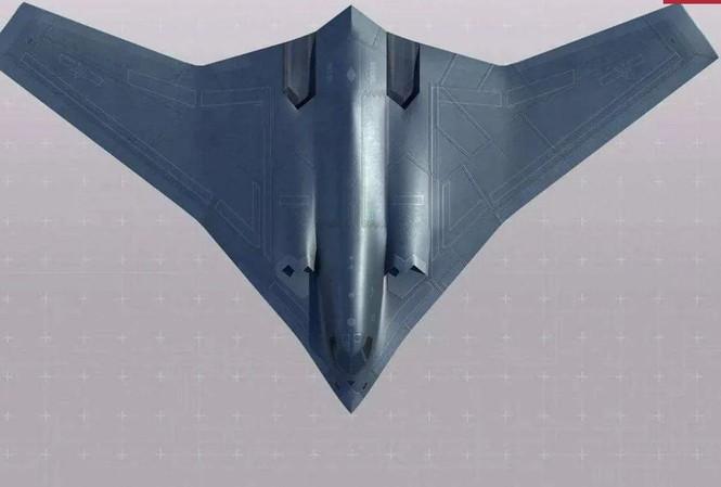 Một hình ảnh được cho là máy bay ném bom H-20 trên mạng xã hội Trung Quốc