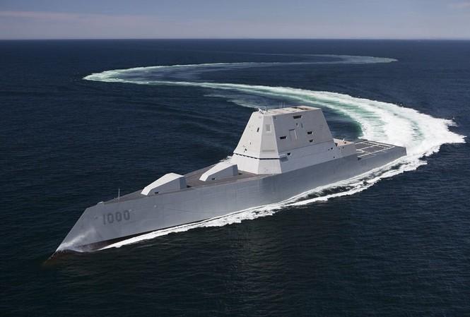 Tàu khu trục lớp Zumwalt của Hải quân Mỹ
