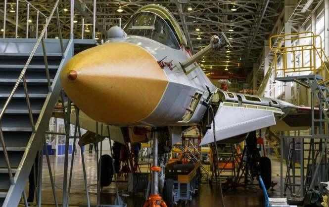 Tiêm kích Su- 57 đang được sản xuất hàng loạt