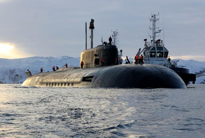 Tàu ngầm mang tên lửa hành trình chạy bằng năng lượng hạt nhân Dự án 949 Granit (Oscar)