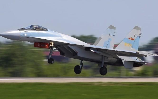 Tiêm kích Su-35 Trung Quốc