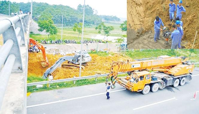 Liên tiếp xảy ra sự cố vỡ đường ống nước sông Đà khiến người dân lo lắng, mất niềm tin.    ảnh: Hà Thành