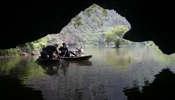 Tràng An, di sản thế giới dạng hỗn hợp đầu tiên của Việt Nam.         Ảnh: Minh Đức