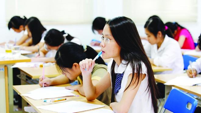 Sinh viên trường Đại học Ngoại ngữ - Đại học quốc gia Hà Nội. Ảnh: Hồng Vĩnh