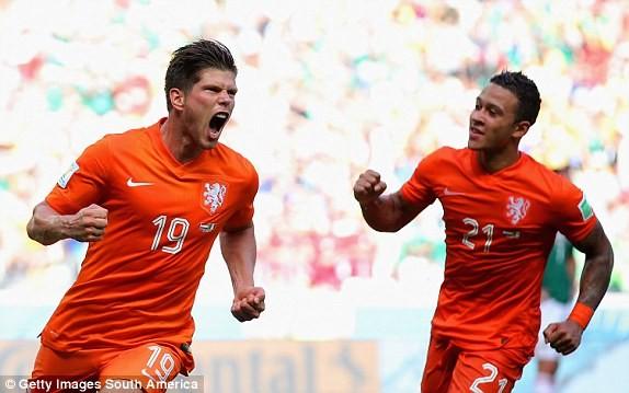 Hà Lan-Mexico (2-1): Ngược dòng siêu tưởng