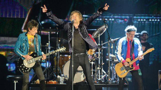 Rolling Stone cùng biểu diễn trên sân khấu lần cuối cùng vào ngày 15/3. Ảnh: BBC