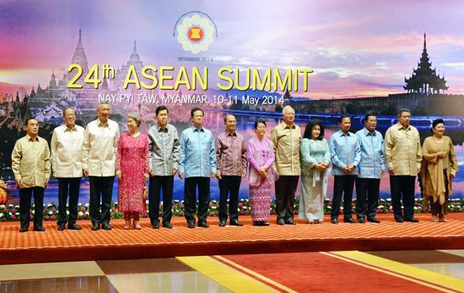 Thủ tướng Nguyễn Tấn Dũng dự Hội nghị Cấp cao ASEAN lần thứ 24