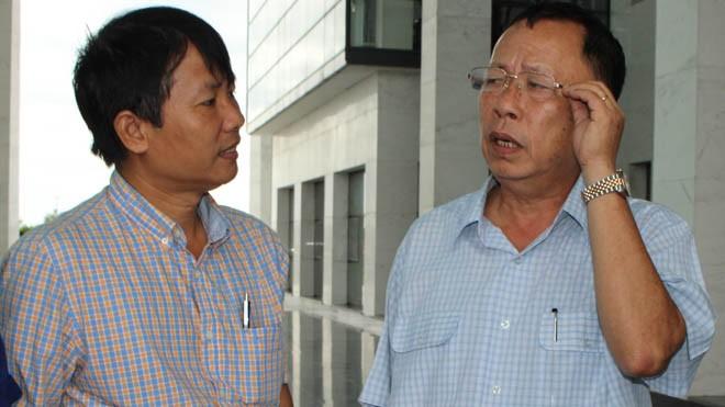 Ông Trần Công Chánh – Bí thư Tỉnh ủy Hậu Giang trả lời PV Tiền Phong. Ảnh: Khánh Nguyên
