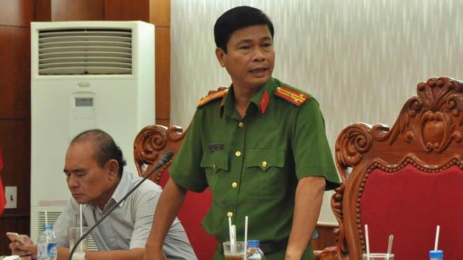 Thượng tá Nguyễn Phú Thương, Phó trưởng Phòng Cảnh sát hình sự Công an thành phố Cần Thơ. Ảnh: Hoà Hội