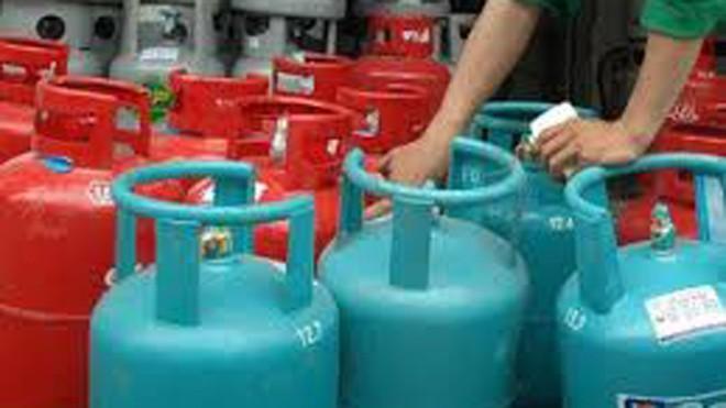 Gas tăng 21.000 đồng/bình từ 1/1/2017