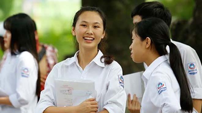 Thí sinh dự thi kì thi THPT quốc gia