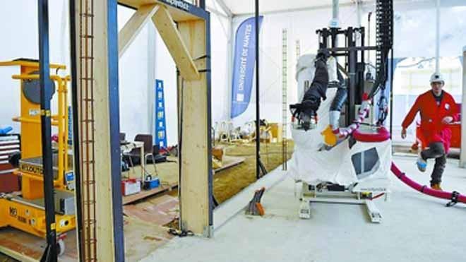 Mất 3 ngày làm xong ngôi nhà 3D: Thợ xây thất nghiệp?
