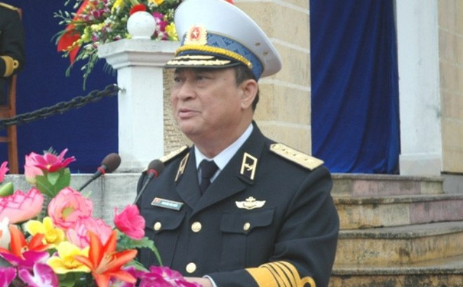 Đô đốc Nguyễn Văn Hiến. Ảnh: Báo điện tử Đảng CSVN.