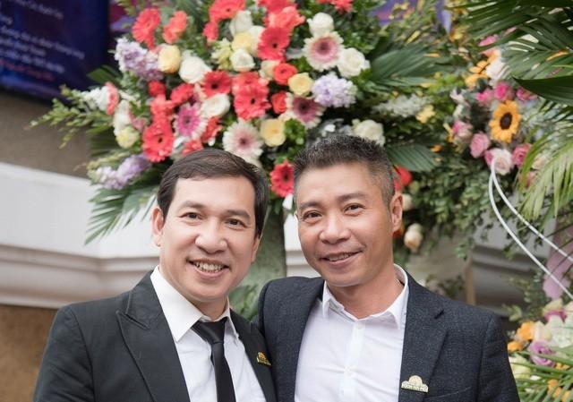 """Trong năm qua, """"Táo"""" Quang Thắng chính thức về """"chung nhà"""" cùng Công Lý."""
