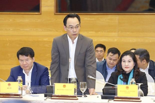 Thứ trưởng Bộ GD&ĐT Hoàng Minh Sơn. Ảnh: TTXVN