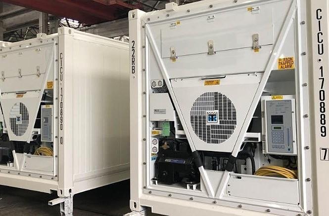 Container đông lạnh qua cải tiến của Thermo King vận chuyển cho khách hàng ở châu Âu trong năm nay. Ảnh: Thermo King.
