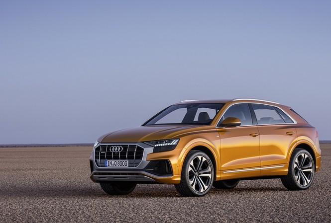 Audi Q8 2019 chính thức ra mắt với nhiều công nghệ mới