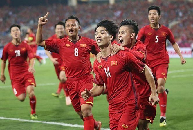 Đội tuyển Việt Nam chuẩn bị tham dự đấu trường Asian Cup.