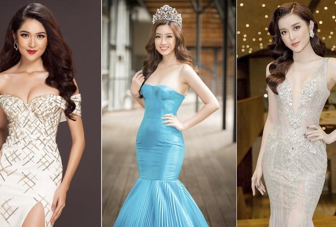 Ba đại diện của Hoa hậu Việt Nam dự thi quốc tế trong năm nay.