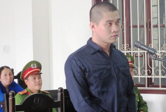 Bị cáo Lâm Trường Bình tại phiên xét xử sáng 3/5.