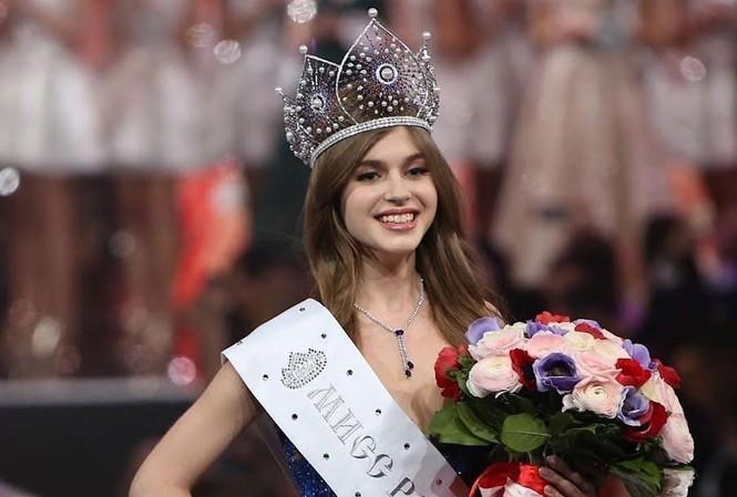 Hoa hậu Nga Alina Sanko.