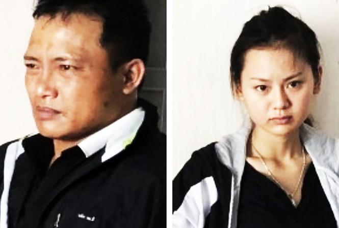 Trần Quang Hiển và bạn gái Trịnh Thị Ngọc