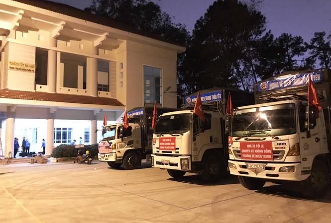 Những chuyến xe 0 đồng xuất phát từ Tỉnh Đoàn Lâm Đồng