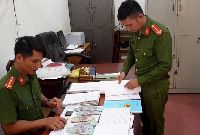 Công an tỉnh Đắk Nông phát hiện 1 vụ cho vay nặng lãi trong giao dịch dân sự ở huyện Đắk Song (ảnh Công Hoan)