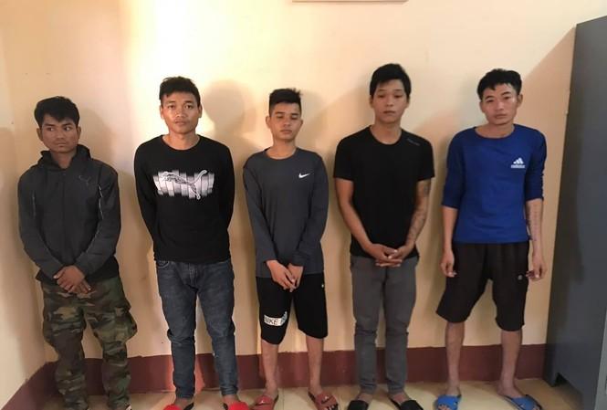 Nhóm đối tượng tấn công kiểm lâm bị bắt giữ