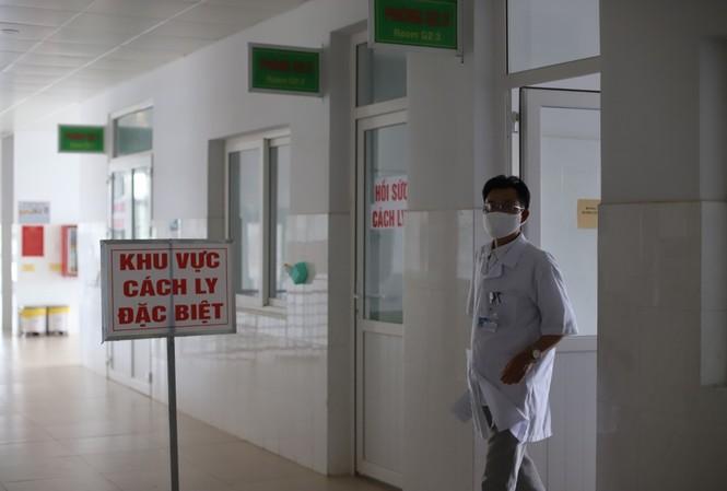 Khu vực điều trị cách ly tại Bệnh viện Đa khoa vùng Tây Nguyên