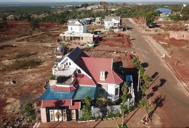 Hiện trạng xây dựng trái phép tại dự án của Cty Nam Sơn