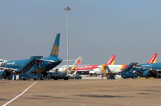 Sân bay Tân Sơn Nhất nơi xảy ra vụ ẩu đả giữa hai nhóm hành khách